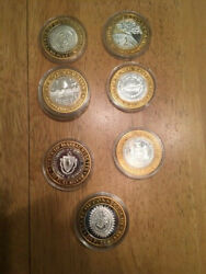 1994 Foxwood Resorts Casino .999 Fine/pure Silver State Coins