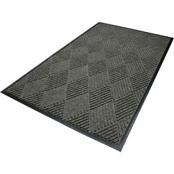 Waterhog Eco Fashion Universal Cleated Safety Mat-gray Ash 6ft X 8.4ft