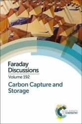 Carbon Capture And Storage Faraday Discussions Chemistry 9781782624783 New-.