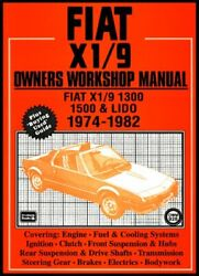 Fiat And X1/9 1974-82 Ownerand039s Workshop Manual Books 9781855204300 New-.