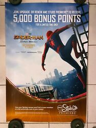 Spider-man Homecoming Rare Glossy Original 27x40 Movie Poster Ds 2017 Marvel