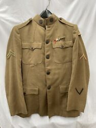 Rare Wwi French 5th Corps 52nd Pioneer Infantry Uniform With Coat And Pants