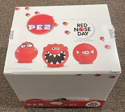 Pez Red Nose Day Empty Display Box From 2014 Comic Relief England
