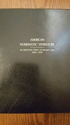 American Numismatic Literature By Charles E. Davis Deluxe Full Leather Edition