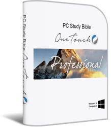 Pc Study Bible Onetouch Professional Series One Touch Software Biblesoft Windows