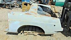 1973 Mgb Rear Clip-chrome Bumper Nice-great Piece To Work With S