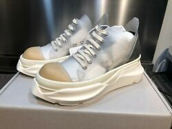 Rick Owens Drkshdw Abstract Transparent Sneakers New Ss21