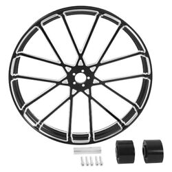 18/21/23/26/30and039and039 Wheel Rim Hub Single/dual Disc Fit For Harley Road King 08-2021