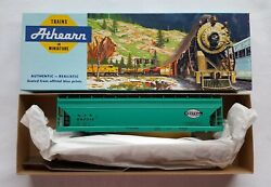 New Ho Scale Athearn Blue-box New York Central Hopper Car Nyc 892012 Teal-green