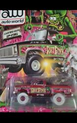 Auto World Vegas Supercon Rat Fink Ultra Red Chase Limited 2 52 Worldwide
