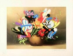 Martin Whatson Mini Still Life Art Print Signed And Numbered /150 W/ Coa