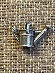 James Avery Sterling Silver Watering Can Garden Charm 500 Retired