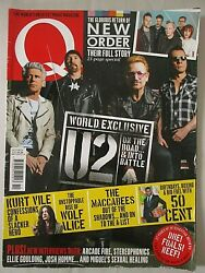 Q Magazine October 2015 U2, New Order, Arcade Fire, Wolf Alice, Stereophonics