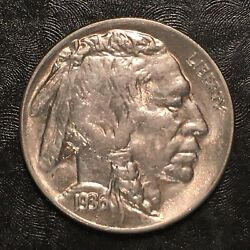 1936 Buffalo Nickel - Full Details - High Quality Scans H004