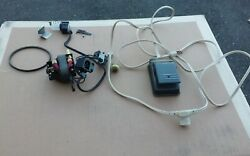 Singer 457 Stylist Sewing Machine Motor Light On/off Switch Foot Control Cord