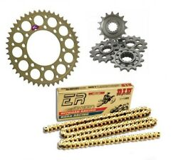 Bmw Hp4 Carbon 2013-2014 Renthal/did Ultimate Racing Chain And Sprocket Kit
