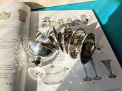 Silver Vintage Punch 6 Cups Antique 1961 Ussr Products Excellent Way Ggh G9
