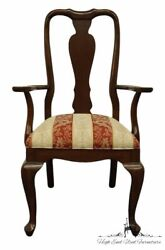 Ethan Allen Georgian Court Solid Cherry Traditional Style Dining Arm Chair 11...