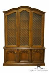 Drexel Heritage Tourine Ii French Provincial China Cabinet 247-424