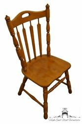 Tell City Solid Hard Rock Maple Arrowback Dining Side Chair 8072 - 48 Andove...