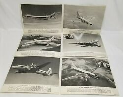 United Airlines Photo School And College Service 15 Photos Air Plane Vintage