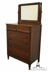 Sligh Furniture Vintage Antique Solid Mahogany Traditional Country French 36...