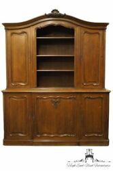 Vintage Antique Solid Walnut Louis Xvi Country French Provincial 75 Sideboar...