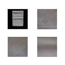 Sheet Tablecloth Iron On/sew On Cloth Patch Linen Art-déco Vintage 1900 1920