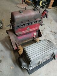 1954 Mg Tf Engine Andnbsp In Parts Appears All Except Crank Run Before Tear Down