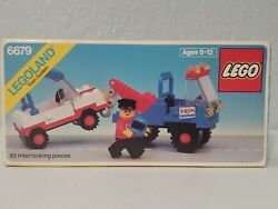 Lego Vintage New Sealed Tow Truck 6679 Exxon Promotional Only Us