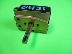 Viking Commercial Range/stove/oven Selector Switch Pj030011 Warranty