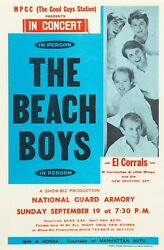 New The Beach Boys Tour Concert Poster Print Art Canvas National Guard Armory
