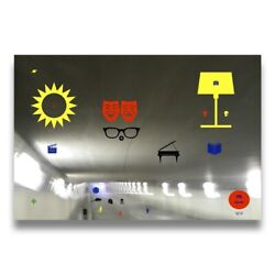Pn Museum Painting Photo Pop Art Deco Abstract Surrealism Paper Metal Glass A4