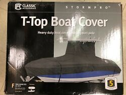 Classic Accessories Stormpro Heavy Duty Center Console T Top Roof Boat Cover