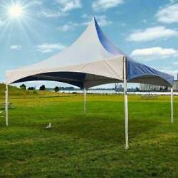20and039 X 20and039 High Peak Tent Blue Commercial Canopy Waterproof Party Event Marquee