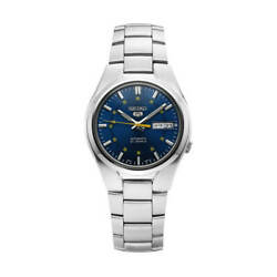 Seiko 5 Snk615k1 Automatic 37mm Blue Dial Stainless Steel Mens Watch