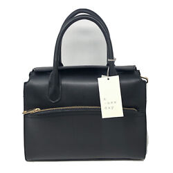 A New Day Black Handbag Crossbody Women Solid with Shoulder Strap $18.99