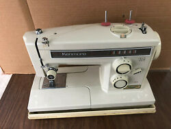 Sears Kenmore 158 Portable Sewing Machine 8 Stitch Zig Zag W/ Foot Pedal 158