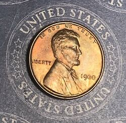 1930 Lincoln Wheat Cent Nice Collector Coin For Your Set Or Collection.