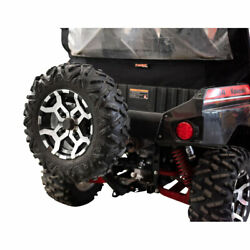 Tusk Hitch Mounted Spare Tire Carrier - Fits Kawasaki Teryx4 800 2014-2021