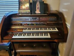 Lowrey Organ-century Lc50 Model-excellent Condition With Padded Stool 3,000.00