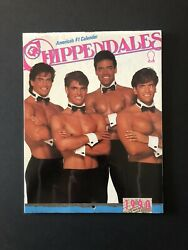 Chippendales Rare And Vintage 1990 Wall Calendar