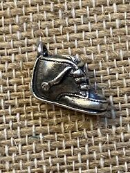 James Avery Sterling Silver Baby Toddler Shoe Charm 600 Retired