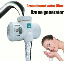 Water Tap Ozone Generator Ozonizer Water Purifier Household Faucet Self-powered