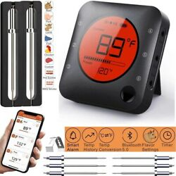 Wireless Bbq Thermometer Digital Lcd Meat Grill Kitchen Cooking Food Probe Timer