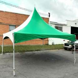 20and039 X 20and039 High Peak Tent Green Commercial Canopy Waterproof Party Event Marquee