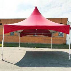 20and039 X 20and039 High Peak Tent Red Commercial Canopy Waterproof Party Event Marquee