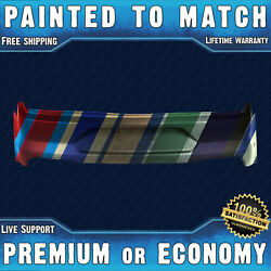 New Painted To Match - Rear Bumper Cover For 2018 2019 2020 2021 Ford Mustang