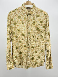 R By 45rpm Gauze Cotton Floral Shirt Size 3 Made In Japan Vintage 45r