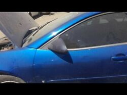 Driver Front Door Sedan With Center Moulding Package Fits 05-10 G6 17084013